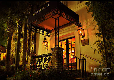 A Warm Summer Night In Charleston Art Print by Kathy Baccari
