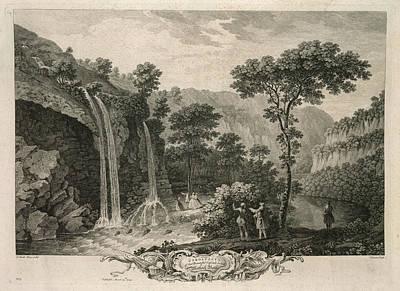 A Waterfall Art Print
