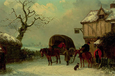 Wayside Painting - A Wayside Rest by Thomas Smythe