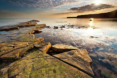 Photograph - A Wider Shot Of Kimmeridge Bay by Image By Owen Lloyd Owenlloydphotography.com
