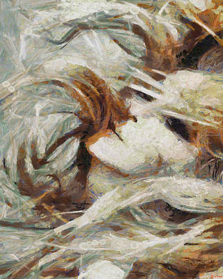 Art Print featuring the painting A Wild Dance by Joe Misrasi