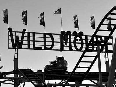 Roller Coaster Photograph - A Wild Ride by David Lee Thompson