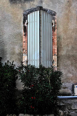 Photograph - A Window In France by Tom Prendergast