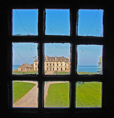 Photograph - A Window To The Past by Kathleen Scanlan