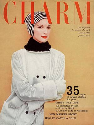 A Winter Charm Cover Art Print