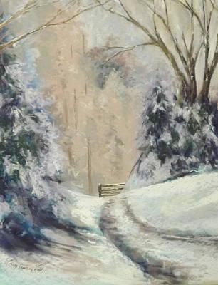 A Winter Walk Original by Erin Cronin-webb