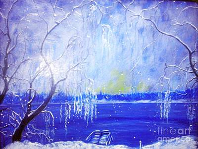 Painting - A Winter's Moment by Stefan Duncan