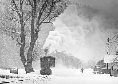 Steam Wall Art - Photograph - A Winter's Tale by Sorin Onisor