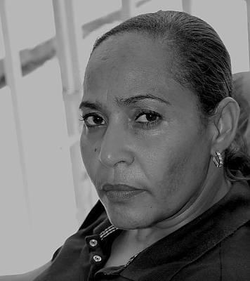 A Wise Caribbean Woman Original by Sandra Pena de Ortiz