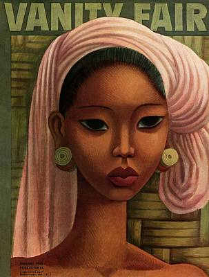 Lips Photograph - A Woman From Bali by Miguel Covarrubias