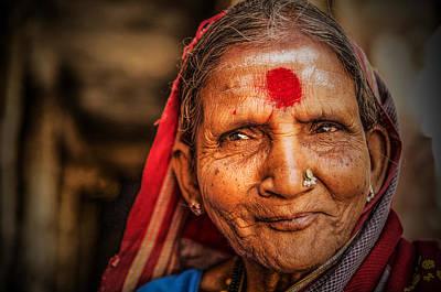 A Woman Of Faith Art Print