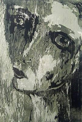 A Woman Portrait Art Print by Nesli Sisli