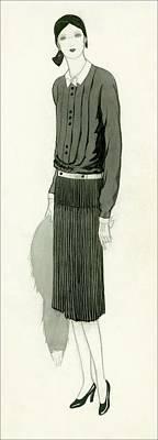 A Woman Wearing Emancipee Print by  Lambarri