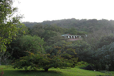 Costarica Mixed Media - A Wonderful Resort Home In Costa Rica  by Navin Joshi