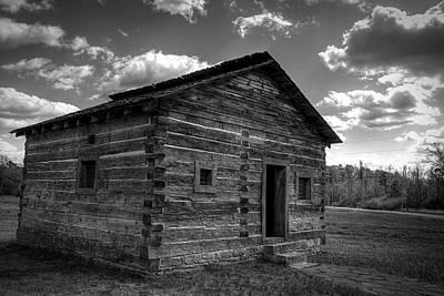 Photograph - A Wooden Jail by Robert Melvin