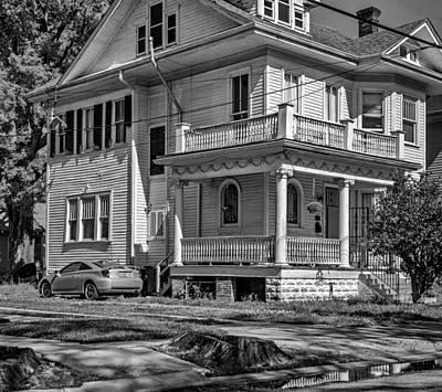 Louisiana Photograph - A Work In Progress Bw by Steve Harrington