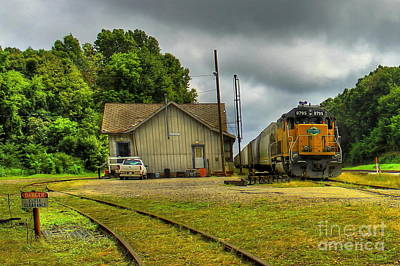 Ns Photograph - A Workhorse At The Madison Station by Reid Callaway