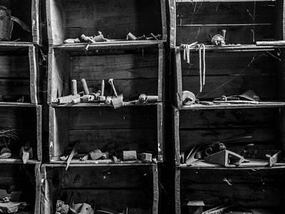 Justin Woodhouse Photograph - A Workshop Waits by Kaleidoscopik Photography