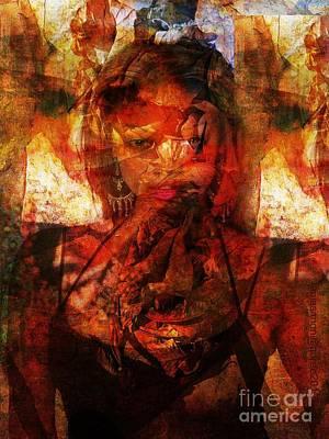 Yesayah Mixed Media - A World Apart by Fania Simon