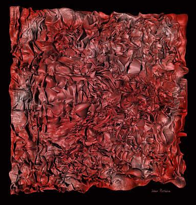 Abstract Digital Art - A World Within A Cloth  by Sir Josef - Social Critic - ART