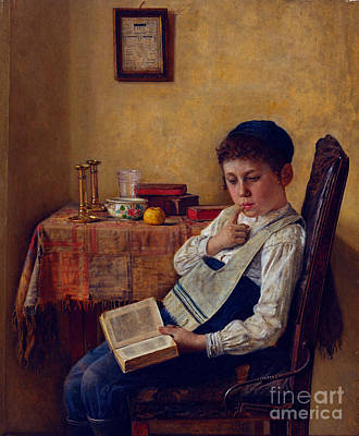A Yeshiva Boy Art Print by Celestial Images