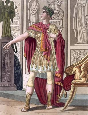 A Young Emperor In His Imperial Armour Art Print by Jacques Grasset de Saint-Sauveur