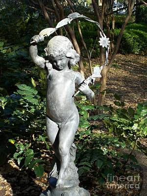 Pagan Nude Photograph - A Youth Of Rome Celebrating At Spring Equinox by ARTography by Pamela Smale Williams