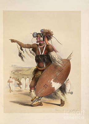 A Zulu Art Print by British Library