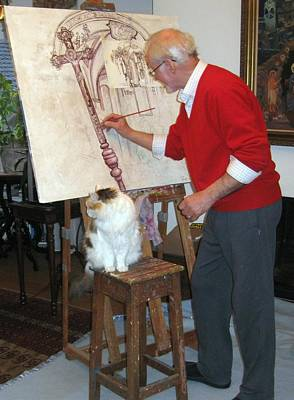 Painting - A01. Producing A Detailed Painting by Les Melton