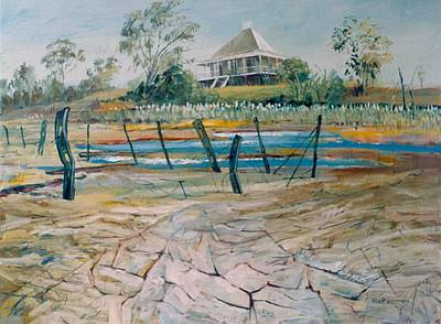 Painting - A01. Queensland  Aus by Les Melton