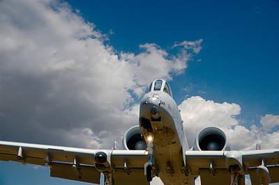 A10 Warthog Approach Landing Art Print