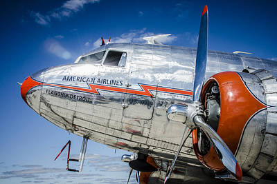 Photograph - Aa Dc3 Flagship Detroit by Bradley Clay