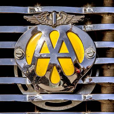 Photograph - Aa Mu Emblem by Melinda Ledsome