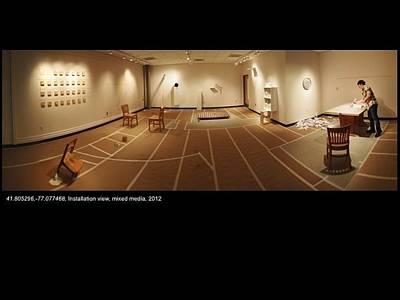Site-specific Installation Ceramic Art - aaa by Ian Thomas