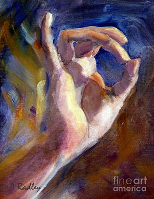 Painting - Aakash by Ann Radley