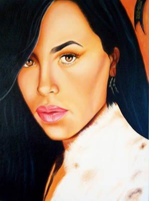 Aaliyah Painting - Aaliyah by Yechiel Abramov