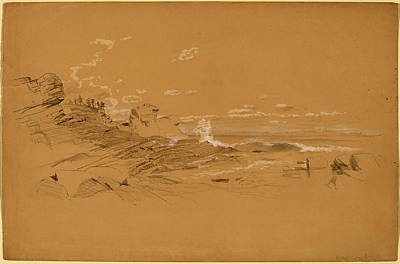 Aaron Draper Shattuck, Maine Coast, American Art Print