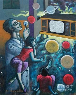 Big Bang Painting - Ab Aeterno by Paul Hilario