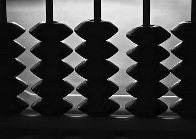 Photograph - Abacus Silhouette by Bill Owen
