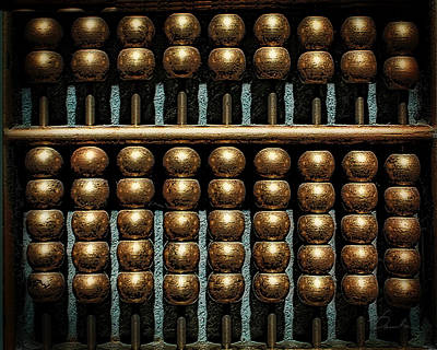 Photograph - Abacus Symmetry by Danuta Bennett