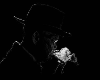 Smokers Photograph - Abah by Andi Halil