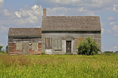 Photograph - Abandon Farm Home by David Letts