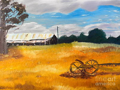 Abandon Farm Art Print