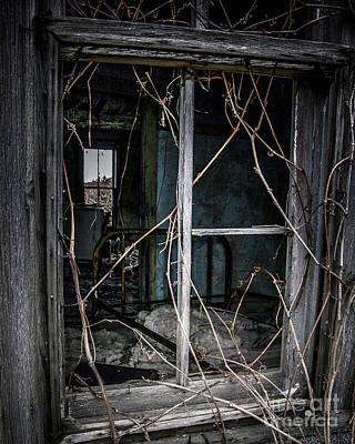 Photograph - Abandon House by Ronald Grogan