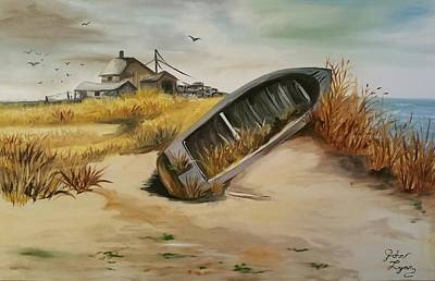Painting - Abandon  by John  Duplantis
