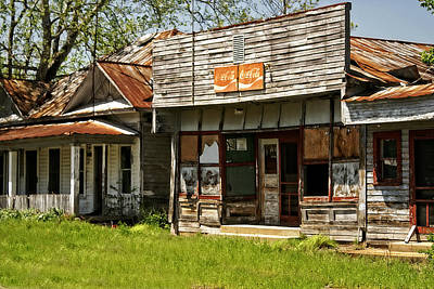 Abandonded Art Print by Marty Koch