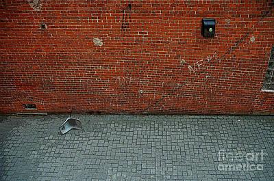 Abandoned Alley Art Print