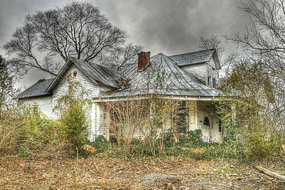 Abandoned And Forgotten Print by Brett Engle