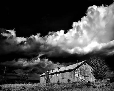 Haunted Shack Photograph - Abandoned by Arne Hansen