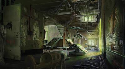 Digital Art - Abandoned Asylum by Anthony Christou